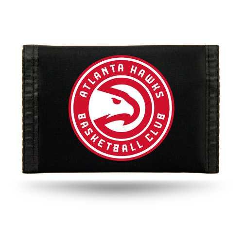 Atlanta Hawks Wallet Nylon Trifold Special Order