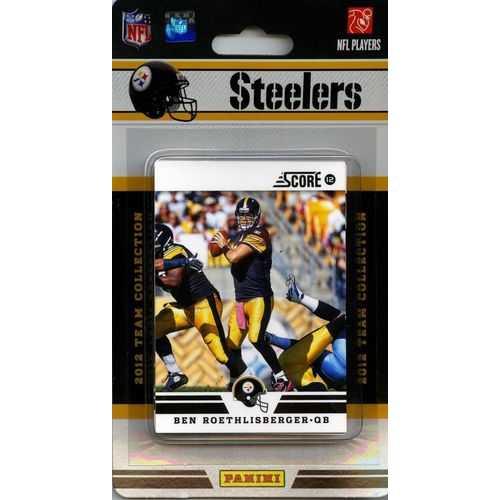 Pittsburgh Steelers 2012 Score Team Set