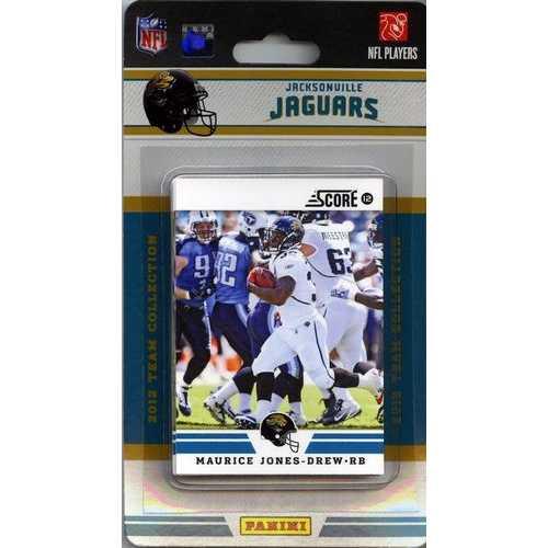 Jacksonville Jaguars 2012 Score Team Set
