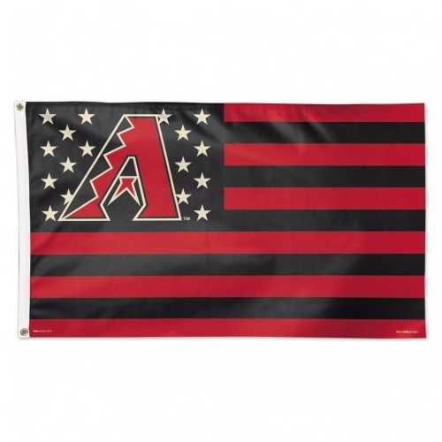 Arizona Diamondbacks Flag 3x5 Deluxe Style Stars and Stripes Design