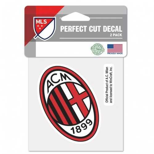 AC Milan Decal 4x4 Perfect Cut Color