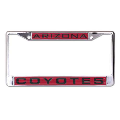 Arizona Coyotes License Plate Frame - Inlaid Special Order
