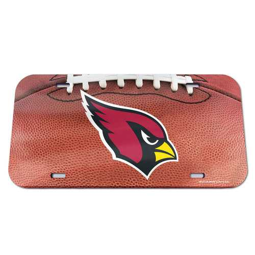 Arizona Cardinals License Plate - Crystal Mirror - Football Special Order