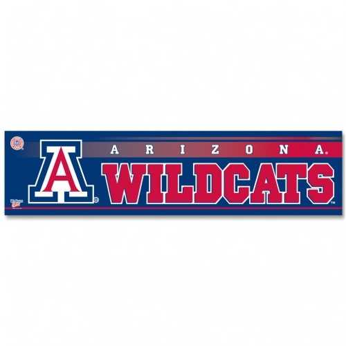 Arizona Wildcats Decal 3x12 Bumper Strip Style Special Order