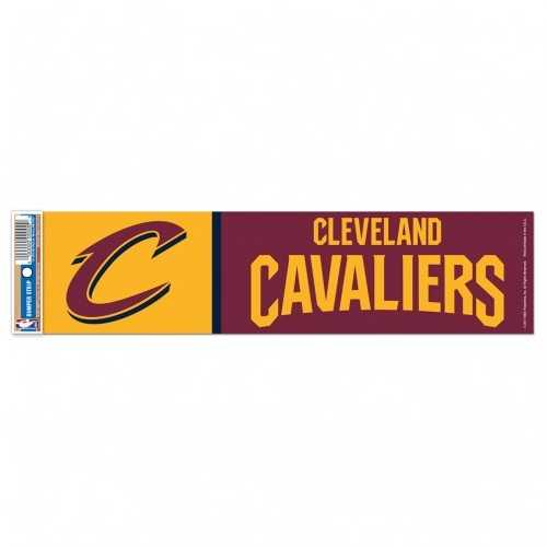 Cleveland Cavaliers Decal 3x12 Bumper Strip Style