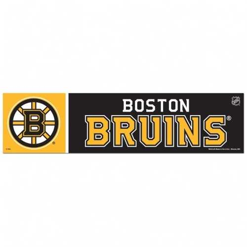 Boston Bruins Decal 3x12 Bumper Strip Style Special Order
