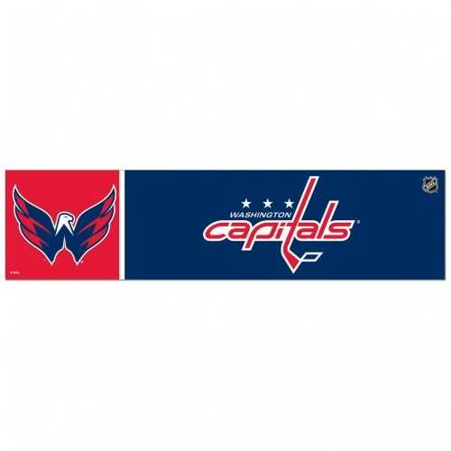 Washington Capitals Decal 3x12 Bumper Strip Style Special Order