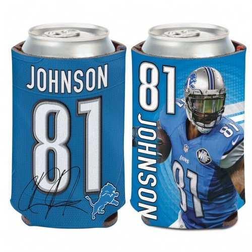 Detroit Lions Calvin Johnson Can Cooler
