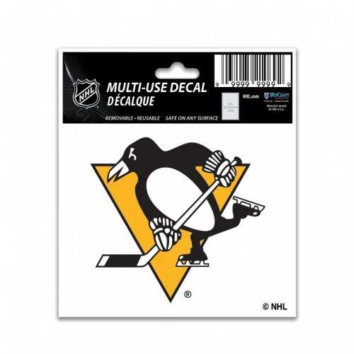 Pittsburgh Penguins Decal 3x4 Multi Use Color Special Order