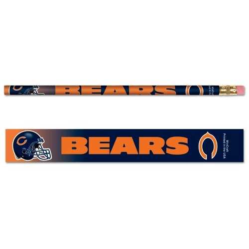 Chicago Bears Pencil 6 Pack