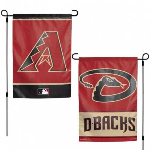 Arizona Diamondbacks Flag 12x18 Garden Style 2 Sided Special Order