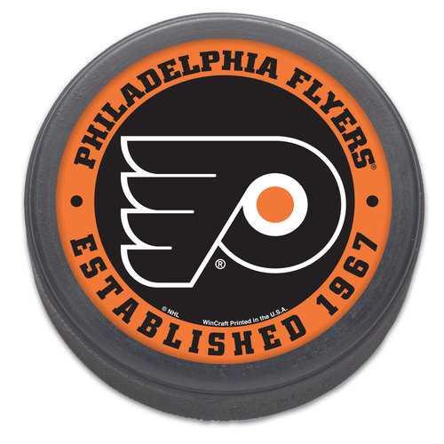 Philadelphia Flyers Hockey Puck Packaged Est 1967 Design