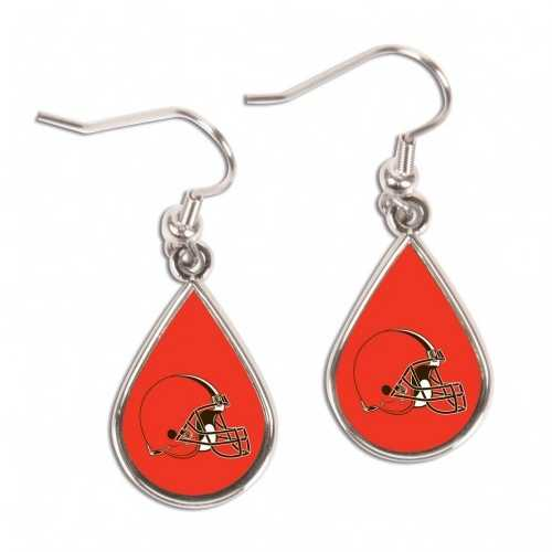 Cleveland Browns Earrings Tear Drop Style Special Order