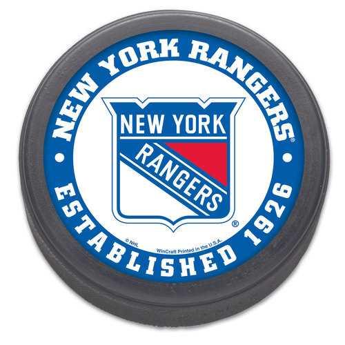 New York Rangers Hockey Puck Packaged Est 1926 Design