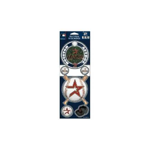 Houston Astros Stickers Prismatic Special Order