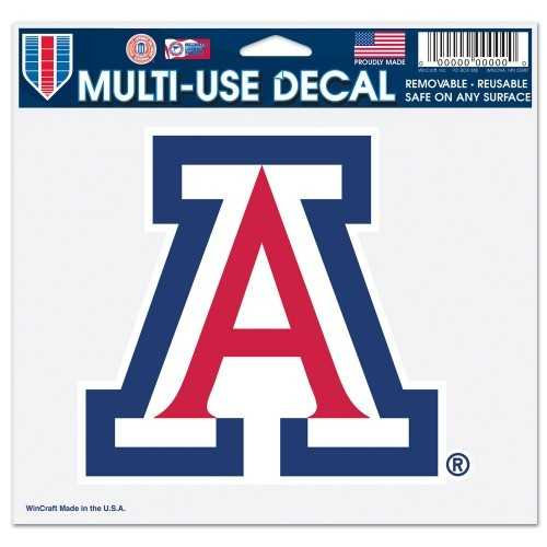 Arizona Wildcats Decal 5x6 Multi Use Color Special Order
