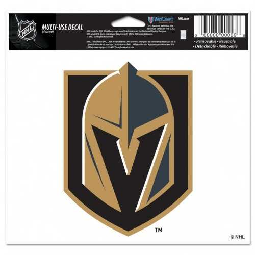 Vegas Golden Knights Decal 5x6 Multi Use Color Special Order
