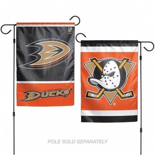 Anaheim Ducks Flag 12x18 Garden Style 2 Sided Special Order