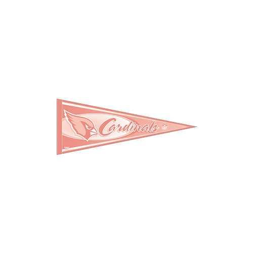 Arizona Cardinals Pennant - Pink