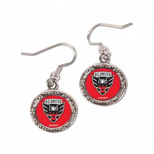 DC United Earrings Round Style Special Order