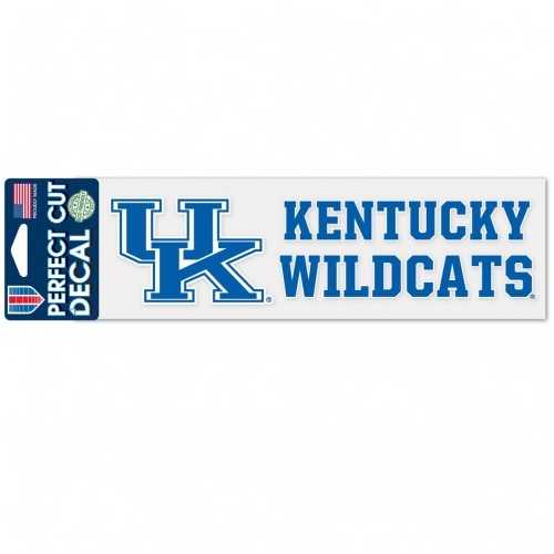 Kentucky Wildcats Decal 3x10 Perfect Cut Wordmark Color