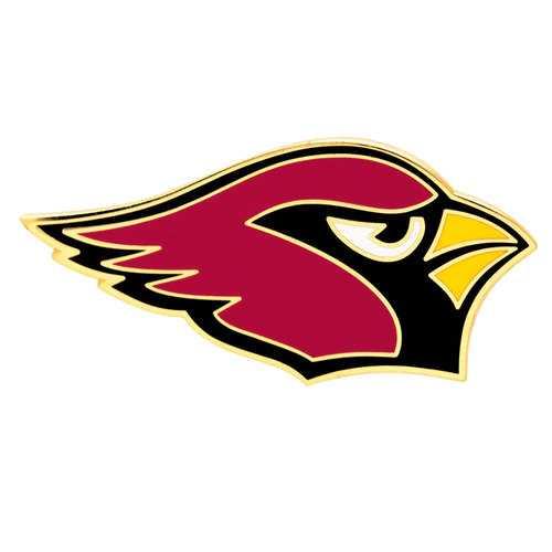 Arizona Cardinals Collector Pin Jewelry Card