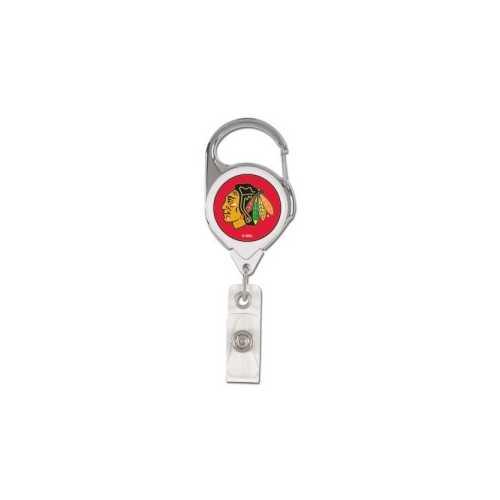 Chicago Blackhawks Retractable Premium Badge Holder