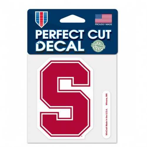 Stanford Cardinal Decal 4x4 Perfect Cut Color Special Order