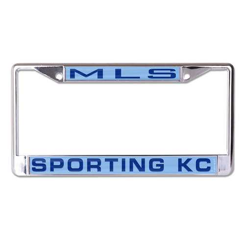 Sporting Kansas City License Plate Frame - Inlaid Special Order
