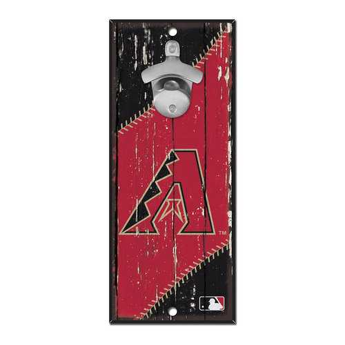 Arizona Diamondbacks Sign Wood 5x11 Bottle Opener Special Order