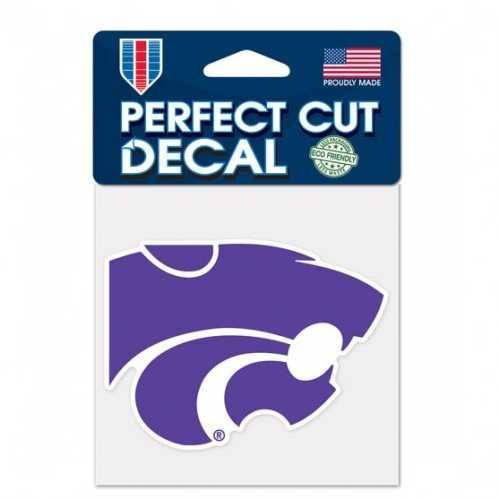 Kansas State Wildcats Decal 4x4 Perfect Cut Color Special Order