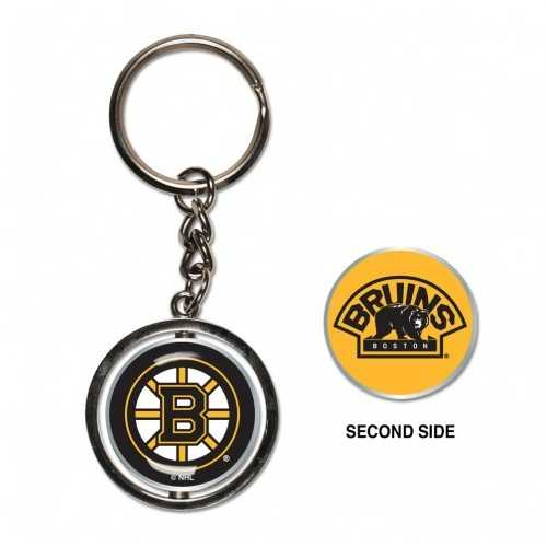 Boston Bruins Key Ring Spinner Style Special Order