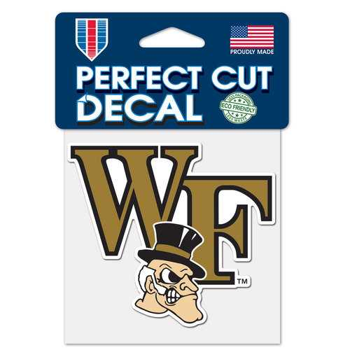 Wake Forest Demon Deacons Decal 4x4 Perfect Cut Color Special Order
