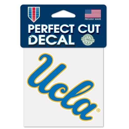 UCLA Bruins Decal 4x4 Perfect Cut Color Special Order