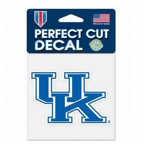 Kentucky Wildcats Decal 4x4 Perfect Cut Color Special Order