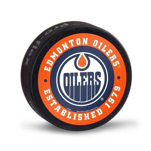 Edmonton Oilers Hockey Puck Bulk - Special Order