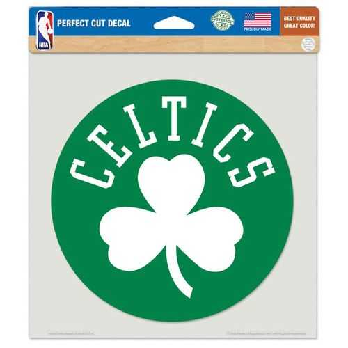 Boston Celtics Decal 8x8 Die Cut Color Special Order
