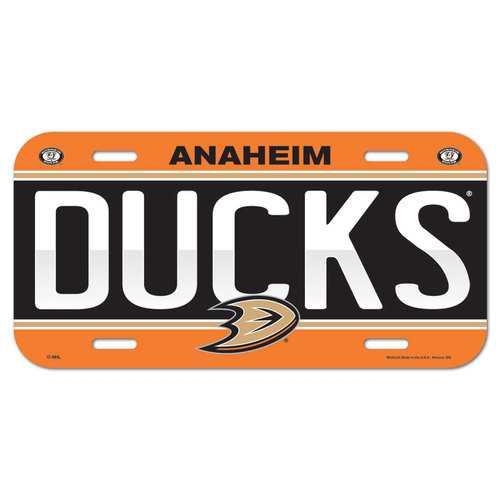Anaheim Ducks License Plate Special Order