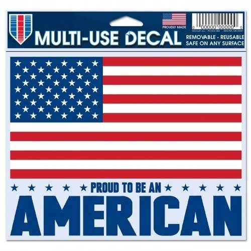 American Flag Decal 5x6 Multi Use Color Special Order