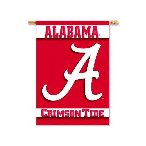 Alabama Crimson Tide Banner 28x40 Vertical Alternate Design Special Order