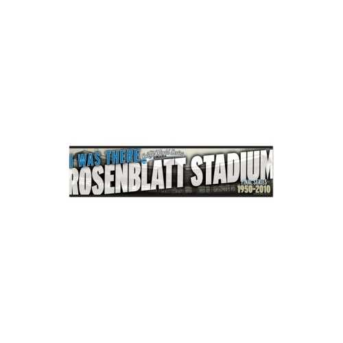 College World Series Decal Bumper Strip Style 2010 I Was There