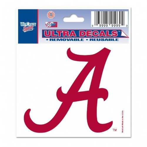 Alabama Crimson Tide Decal 3x4 Multi Use Special Order