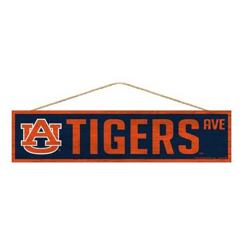 Auburn Tigers Sign 4x17 Wood Avenue Design