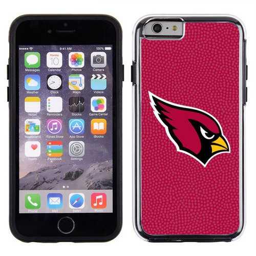 Arizona Cardinals Phone Case Team Color Football Pebble Grain Feel IPhone 6
