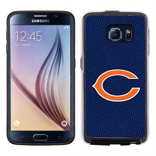 Chicago Bears Phone CaseTeam Color Football Pebble Grain Feel Samsung Galaxy S6
