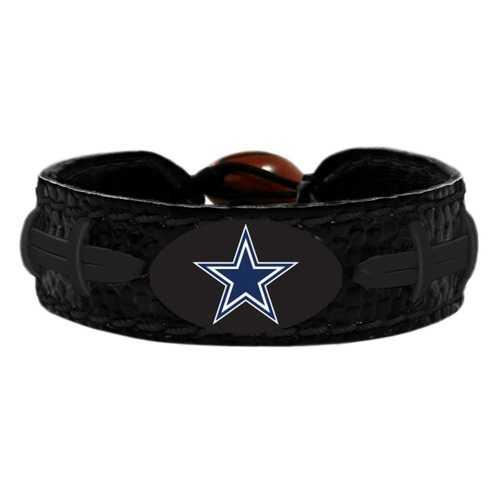 Dallas Cowboys Bracelet Team Color Tonal Black Football