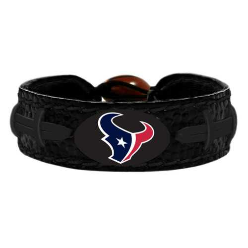 Houston Texans Bracelet Team Color Tonal Black Football