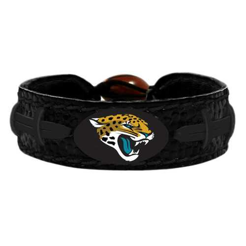 Jacksonville Jaguars Bracelet Team Color Tonal Black Football