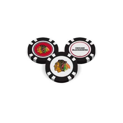 Chicago Blackhawks Golf Chip with Marker - Bulk