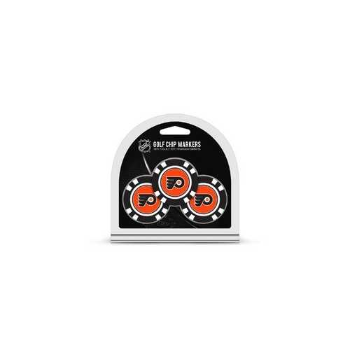 Philadelphia Flyers Golf Chip with Marker 3 Pack